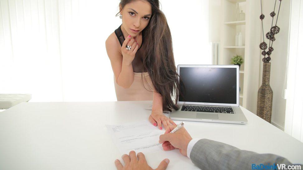 office vr porn sex hot
