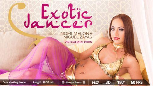 3d sex oriental dancer