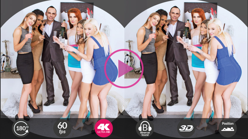 Gina Gerson Anna Swix Daisy Lee Alexis Crystal Isabella Chrystin VR porn 3D sex 3D porn New Year POV