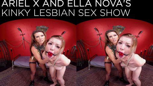 bdsm lesbian vr porn