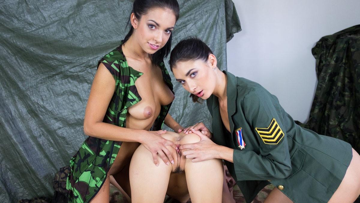 Bikini army lesbian porn