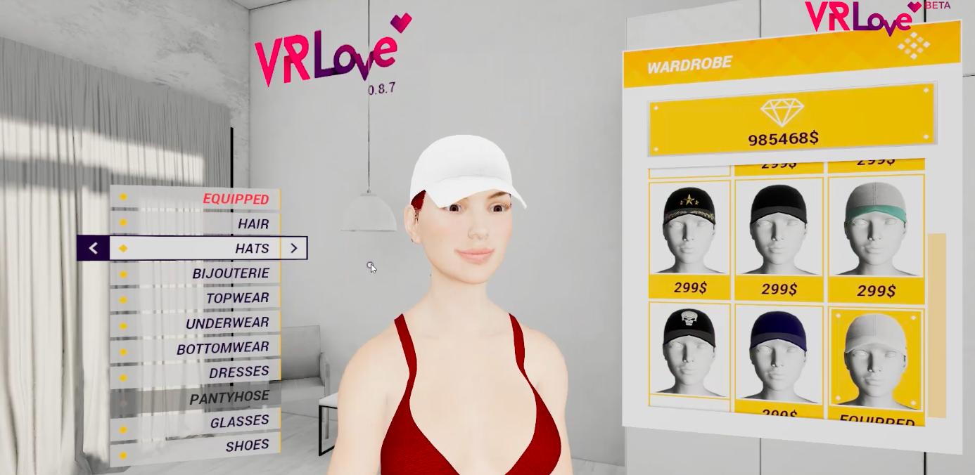 VRlove character