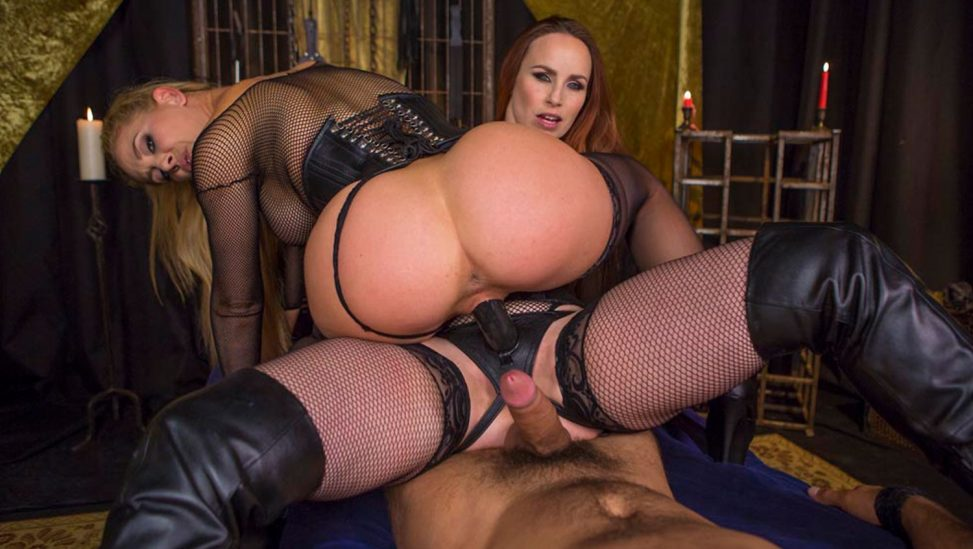 BDSM threesome vr